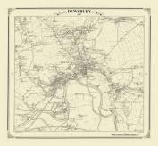 Dewsbury 1847 Map