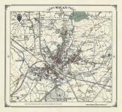 Wigan 1845 Map