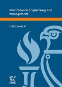 Maintenance Engineering and Management