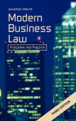 Modern Business Law