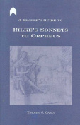 A Reader's Guide to Rilke's Sonnets to Orpheus