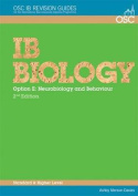 IB Biology - Option E