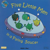 Five Little Men in a Flying Saucer (Classic Books with Holes S.) [Board book]