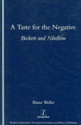 A Taste for the Negative