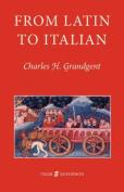 From Latin to Italian