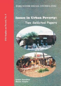 Issues in Urban Poverty