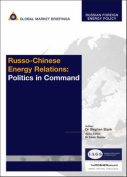 Russo-Chinese Energy Relations