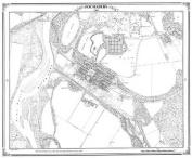 Fochabers 1869 Map