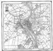 Dumfries 1858 Map