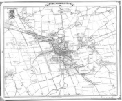 Dunfermline 1854 Map