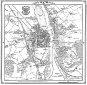 Map of Perth 1859