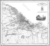 Greenock 1856 Map