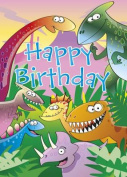 Happy Birthday - Dinosaur