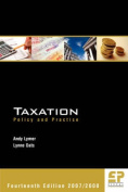 Taxation - Policy and Practice 2007-2008
