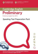 Speaking Test Preparation Pack for PET Paperback with DVD