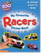 My Favourite Racers Sticker Book