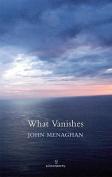 What Vanishes