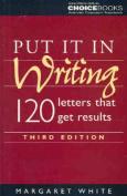 Put it in Writing