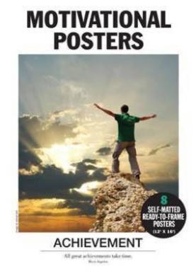 Motivational Posters - Achievement by Alicat Trading Pty Ltd ...