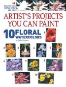 10 Floral Watercolors