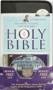 Alexander Scourby Bible-KJV [With The Indestructible Book] [Audio]