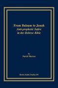 From Balaam to Jonah