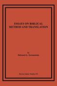 Essays on Biblical Method and Translation