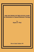 The Doctrine of the Divine Name