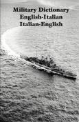 Military Dictionary English-Italian Italian-English