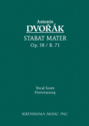 Stabat Mater, Op. 58 - Vocal Score