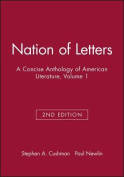 Nation of Letters, Volume 1
