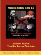 Alabama Student Timeline Journal Notebook
