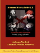 Alabama Student Timeline Journal Notebook