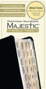 Majestic Bible Tabs, Traditional Gold-Edged, Mini (Majestic Bible Tabs