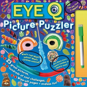 Eye Q Picture Puzzler [With Dry-Erase Marker] [Board Book]