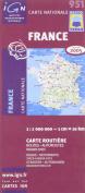 951: France Roads & Motorways 2005 Double - Sided