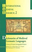 Dictionaries of Medieval Germanic Languages