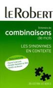Dict. Combinaisons De Mots - Synonymes En Contexte [FRE]