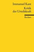 Kritik Der Urteilskraft [GER]