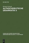 Althochdeutsche Grammatik [GER]