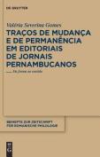 Tracos De Mudanca E De Permanencia Em Edetoriais De Jornais Pernambucanos