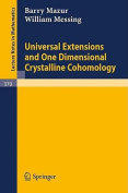 Universal Extensions and One Dimensional Crystalline Cohomology
