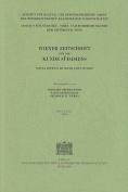 Wiener Zeitschrift Fur die Kunde Sudasiens/Vienna Journal Of South Asian Studies [GER]