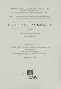 Die Register Innocenz' III. 10. Band [GER]