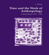 Time and the Work of Anthropology
