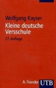 Kleine Deutsche Versschule [GER]