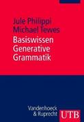 Basiswissen Generative Grammatik [GER]