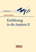 Einfuhrung in Die Analysis II [GER]