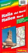Italy North road map