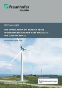 The Application of Barrier Tests in Renewable Energy CDM Projects